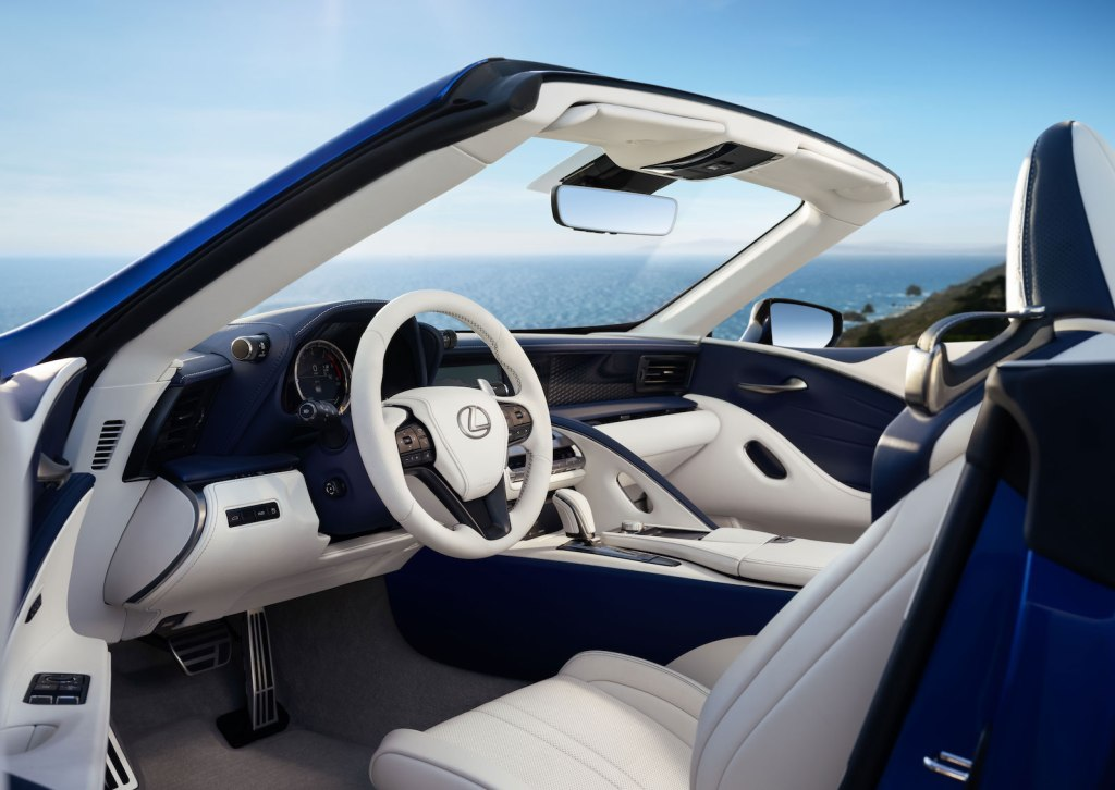 This is How the 2020 Lexus LC 500 Cabrio Convertible Looks Like