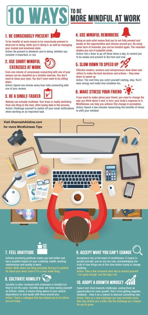 Ways To Be More Mindful At Work
