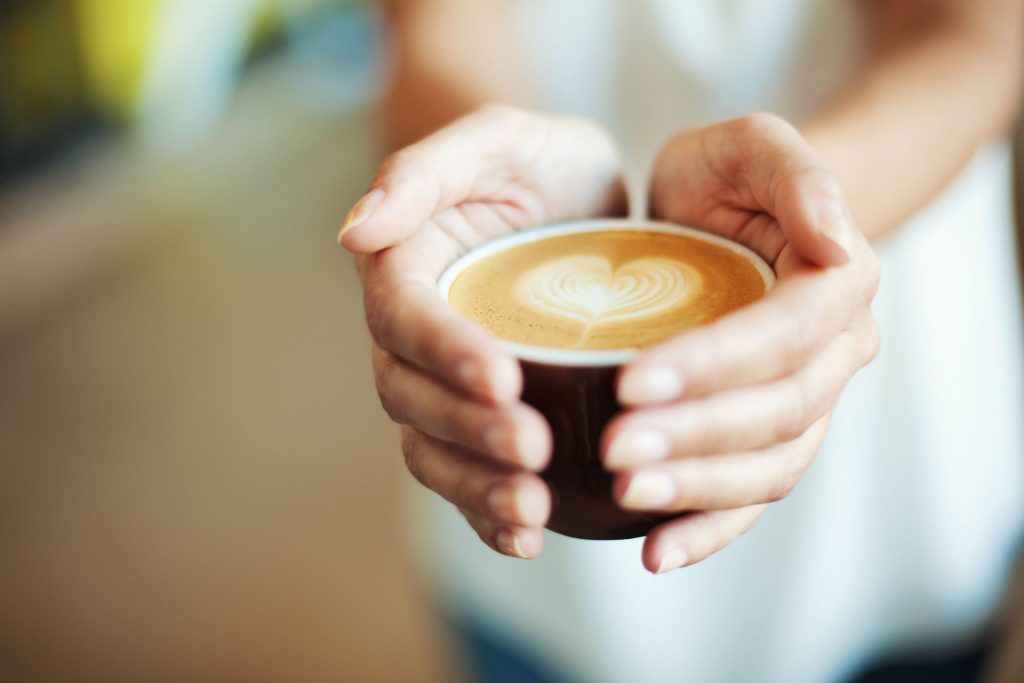 Does caffeine increase or decrease appetite?