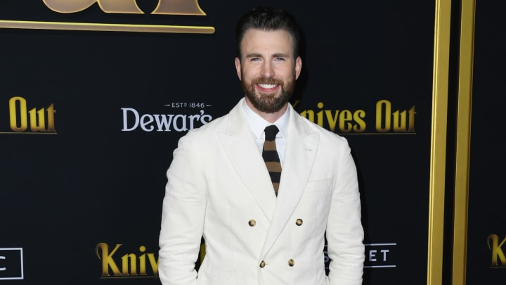 Chris Evans sent an emotional message to the boy who saved his sister from a dog attack