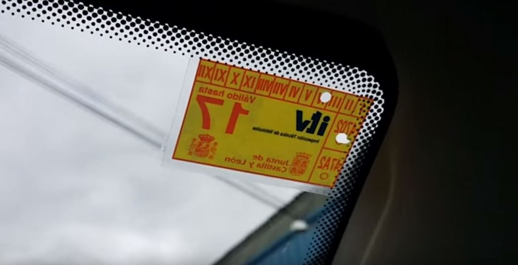 Be careful, doing this with the ITV sticker is now a crime