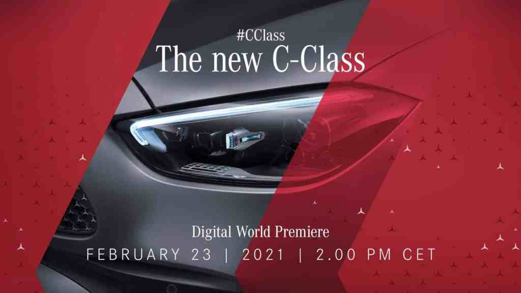 The new Mercedes-Benz C-Class already has a date and you can see its debut online here