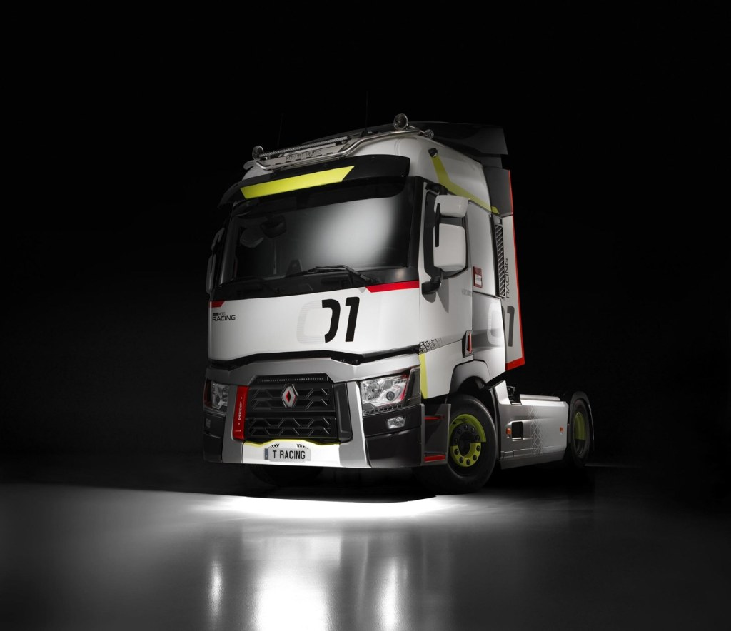 What do you think of the Renault Trucks T 01 Racing ?: Already in Spain