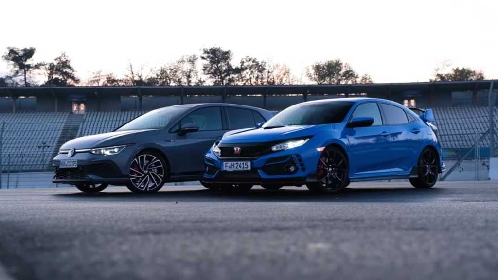 [Vídeo] VW Golf GTI Clubsport vs. Honda Civic Type R: Which one are you betting on the track?