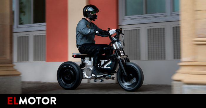 BMW presents an electric motorcycle that helps to learn | Motorcycles