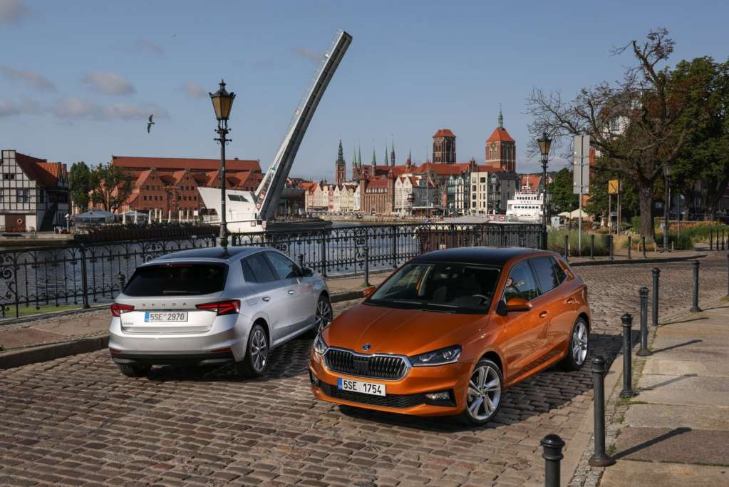 The Skoda Fabia 2022 shows us its charms in this gallery