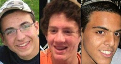 Jóvenes secuestrados
