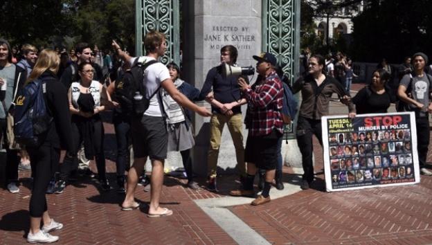 Protesta California