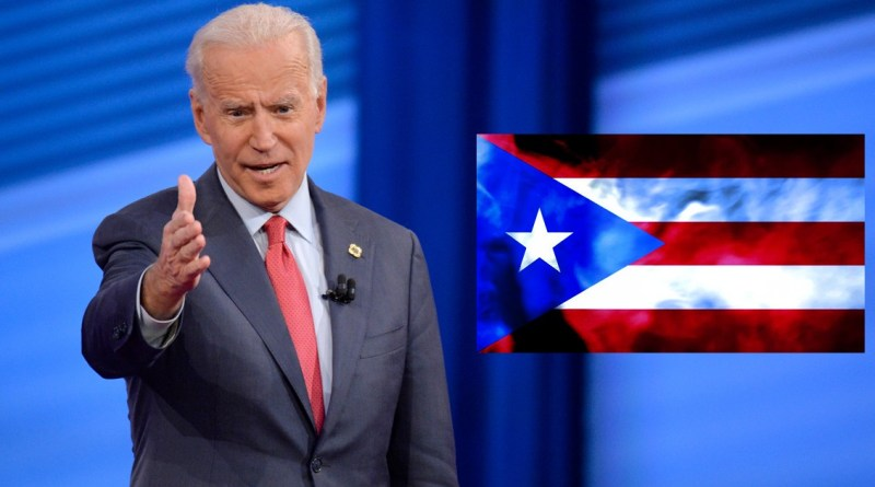 Biden supports statehood for Puerto Rico