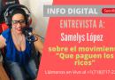 Entrevista a Samelys López sobre el movimiento «Que paguen los ricos»