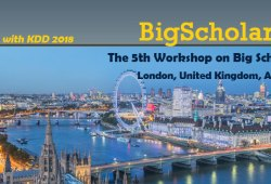The 5th workshop on big scholarly data