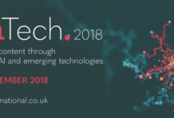 ConTech 2018 (antes LII): transforming content through data science, AI and emerging technologies