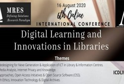 6th Online international conference on digital learning and innovations in libraries (ICDLIL 2020)