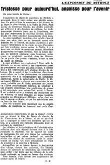 21.1 l'explosion de Mitholz 1947