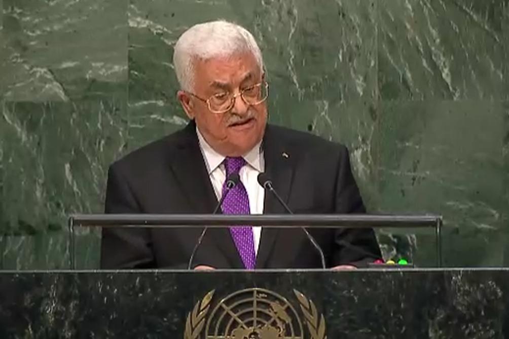 abbas le dio un ultimatum a israel para abandonar los territorios palestinos