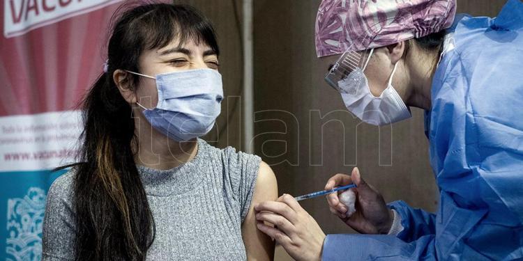 el gobierno bonaerense envio turnos para completar esquemas de vacunacion con sinopharm