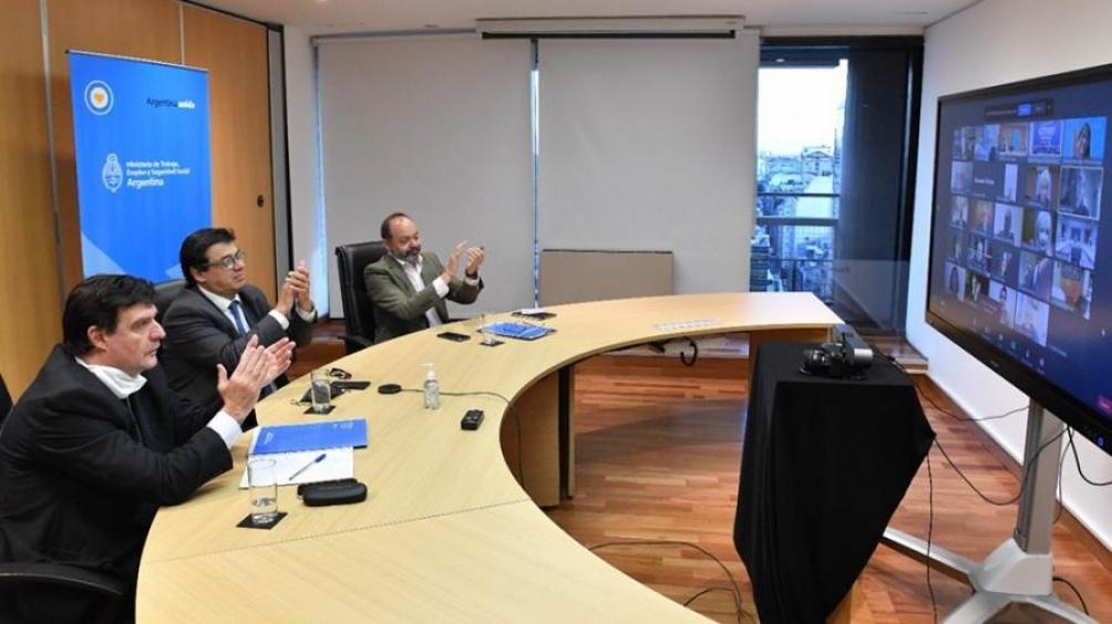 Foto: Prensa del Ministerio de Trabajo.
