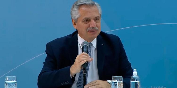 fernandez presenta el proyecto de ley de promocion de inversiones hidrocarburiferas