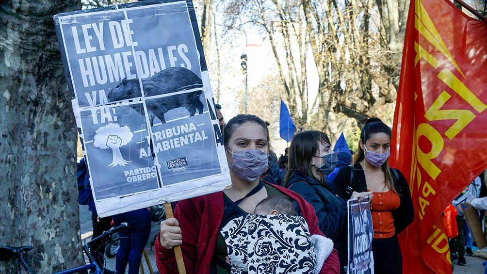 Marcha en Mar del Plata. Foto: Alejandro Moritz.