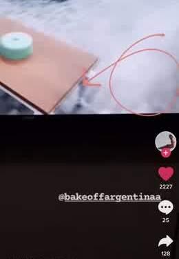 una rata en bake off argentina una usuaria de tik tok alerto sobre la presencia del roedor en el programa