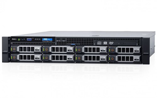 Foto do servidor R530 da Dell