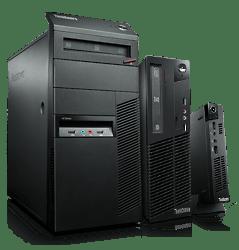 Computadores e notebooks da Lenovo