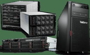 Servidores e storage Lenovo
