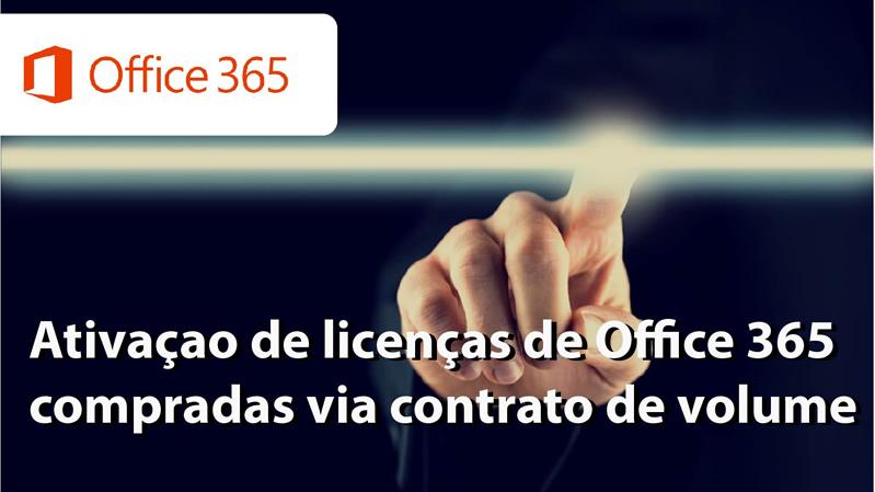 Como ativar o Office 365