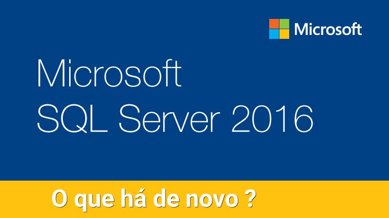 Como comprar SQL Server 2016