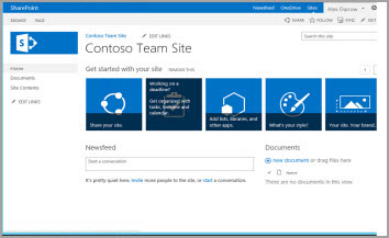 5 principais recursos do office 365 para escrit rios de for Sharepoint knowledge management template