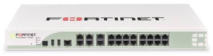Exemplo de um firewall UTM da Fortinet.