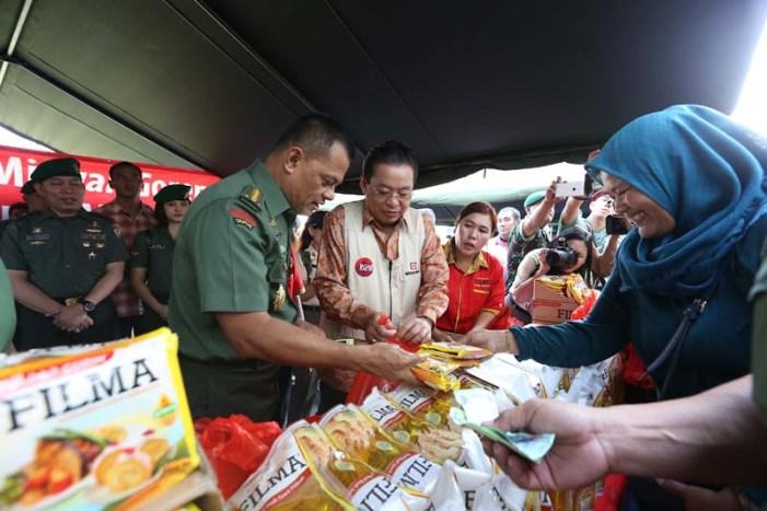 Kasad TNI Gelar Bazaar