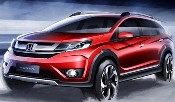 Honda Kenalkan Prototipe Honda BR-V