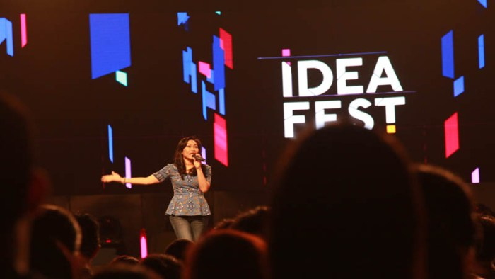 Blue Birg Gelar Idea Fest Blue Bird