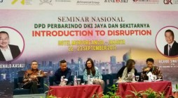 Seminar Nasional Perbarindo Jakarta, Introduction to Disruption