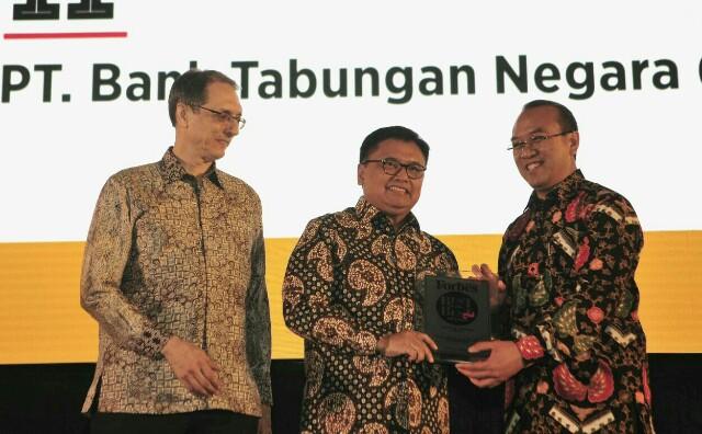 BTN Masuk Jajaran 50 Perusahaan Terbaik di Indonesia
