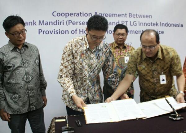 Kerja Sama Layanan Perbankan Mandiri untuk LG Innotek