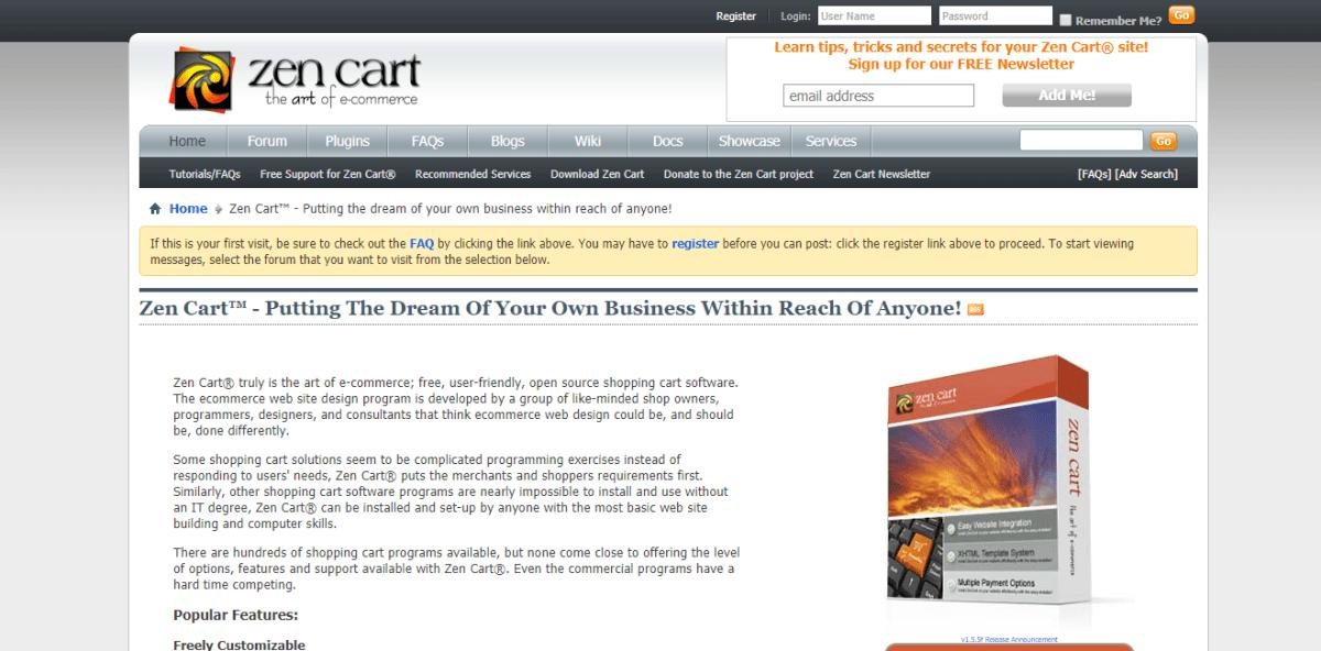 Top 10 Free Open Source Shopping Carts 5