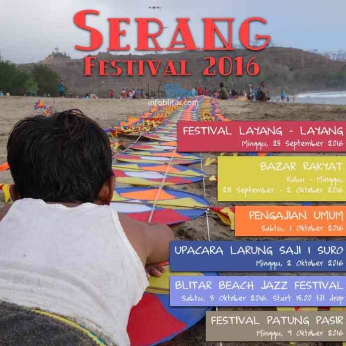 Festival Serang 2016 Blitar