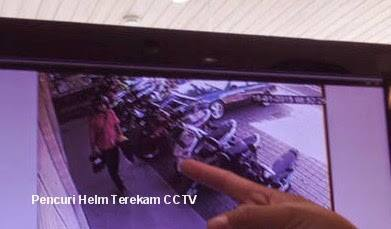 Pencurian Terekam CCTV
