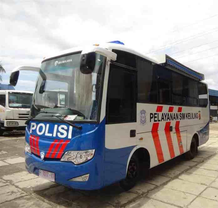 Bus Pelayanan SIM Keliling