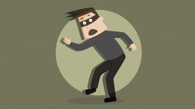 Pencuri Kepergok