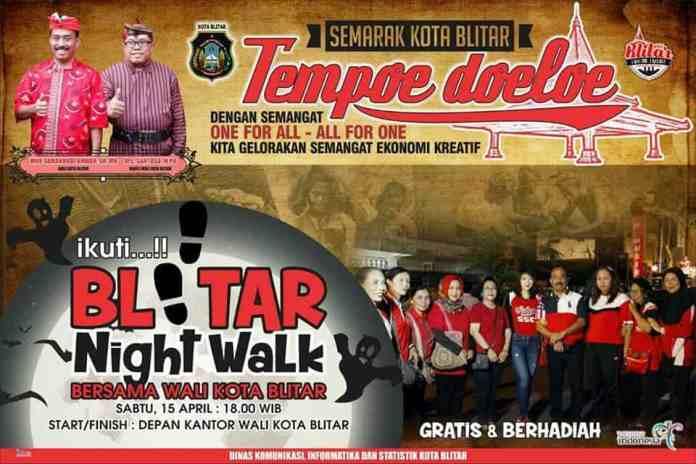 Blitar Night Walk 2017