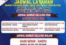 Jadwal Layanan SAMSAT Kab/Kota Blitar