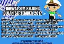 SIM Keliling September 2017
