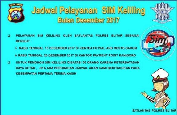 SIM Keliling Desember