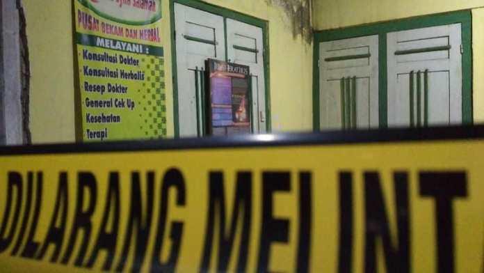 lokasi penangkapan terduga teroris di Blitar