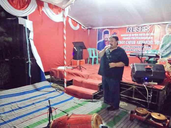 Glebot Catur ariyanto, Ketua DPRD Kota Blitar Periode 2014 - 2019