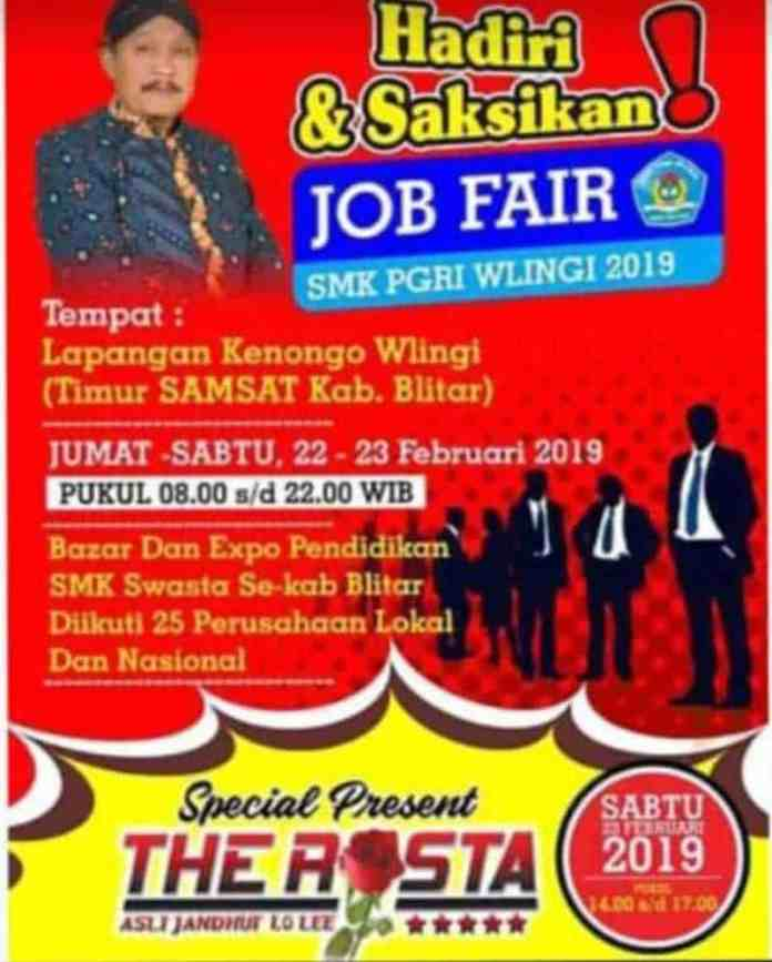 Job Fair SMK PGRI Wlingi 2019