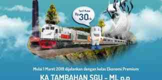 Kereta Api Surabaya Gubeng - Malang